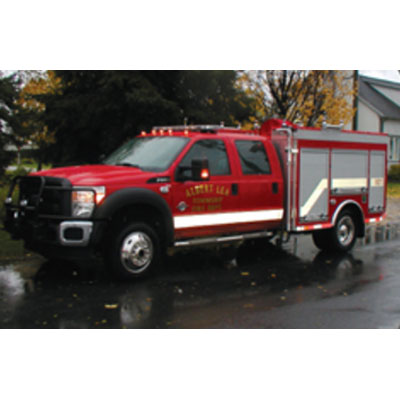 CET Fire Pumps Brush Truck 1 ford cab and chassis