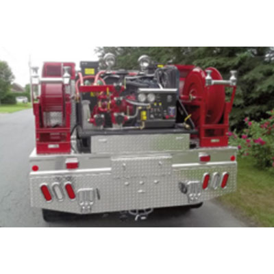 CET Fire Pumps Brush Truck 11 ford cab and chassis