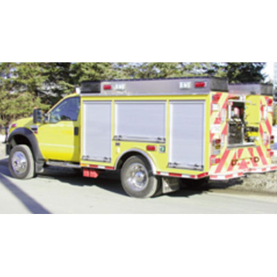 CET Fire Pumps Brush Truck 3 ford cab and chassis