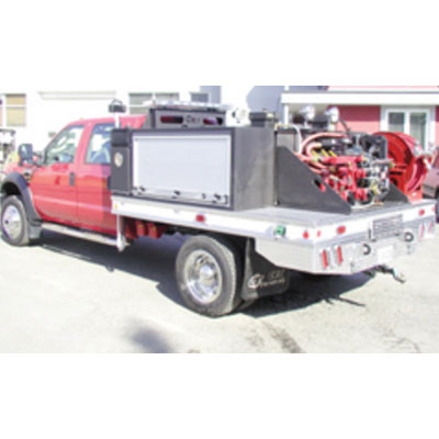 CET Fire Pumps Brush Truck 4 ford cab and chassis