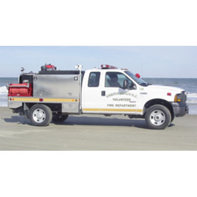 CET Fire Pumps Brush Truck 5 ford cab and chassis