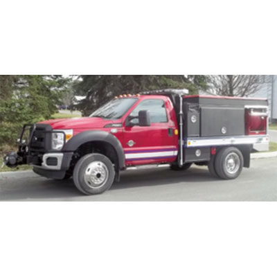 CET Fire Pumps Brush Truck 6 ford cab and chassis