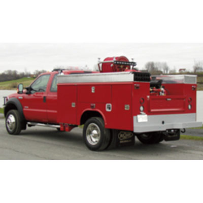 CET Fire Pumps Brush Truck 7 ford cab and chassis