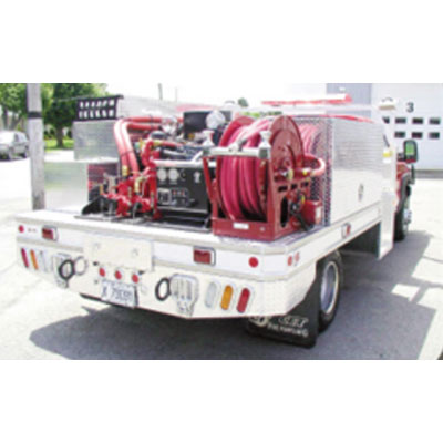 CET Fire Pumps Brush Truck 9 ford cab and chassis