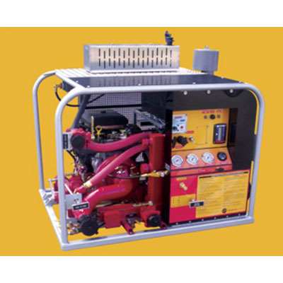 CET 35 CFM GAS air foam system