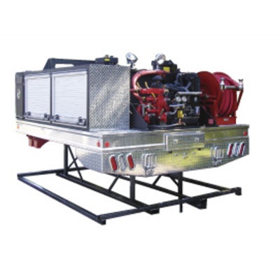 CET Fire Pumps Glider kit -6 standard flat bed compartments