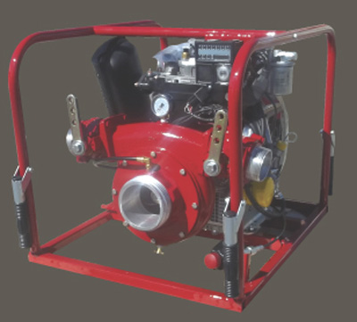 CET PFP-19hp-DSL-AFL diesel powered pump