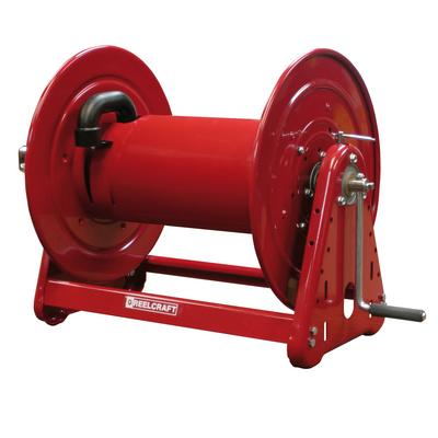 Reelcraft CH37128 L 1 in. x 150 ft. Heavy Duty Hand Crank Hose Reel