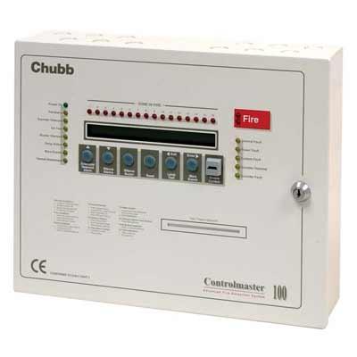 Chubb Controlmaster 100 fire alarm control panel