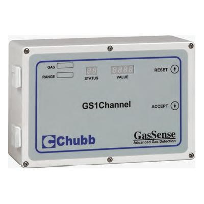 Chubb GS1Channel single channel gas monitor