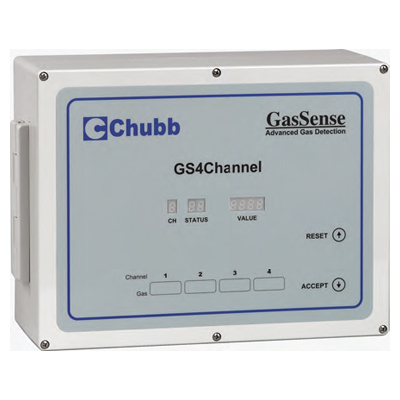 Chubb GS4Channel 4 channel gas monitor