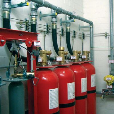 Chubb NOVEC 1230 fixed fire suppression system