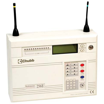 Chubb Radiomaster wire-free fire detection system