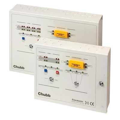 Chubb Zonemaster 104 extinguishant control panel