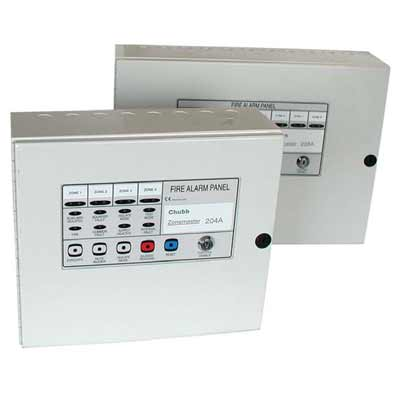 Chubb Zonemaster 208A conventional fire alarm panel
