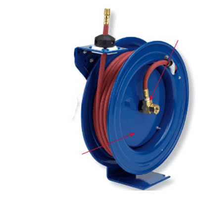 Coxreels P-LP-135 spring driven hose reels