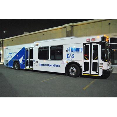 Crestline Coach Toronto EMSemergency response vehicle