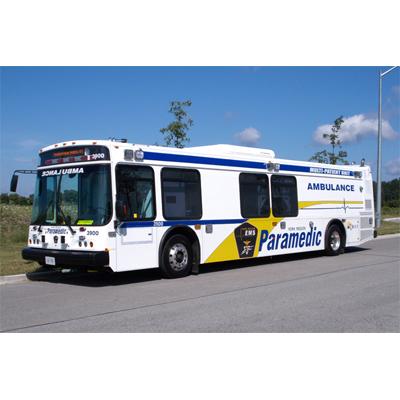 Crestline Coach York Region EMS emergency response vehicle