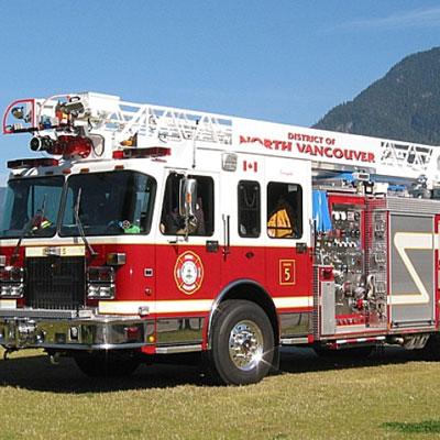 Custom Fire Apparatus, Inc. 55' Heavy Duty Aerial