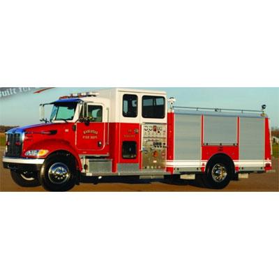 Custom Fire Apparatus, Inc. Full Response Side Mount Pumper