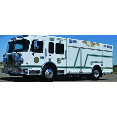 Custom Fire Apparatus, Inc. Non Walk-In Heavy Rescue
