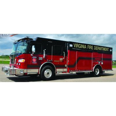 Custom Fire Apparatus, Inc. Rear Mount Pumper