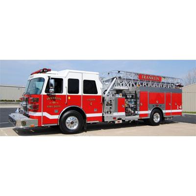 Custom Fire Apparatus, Inc. SA75 aerial ladder