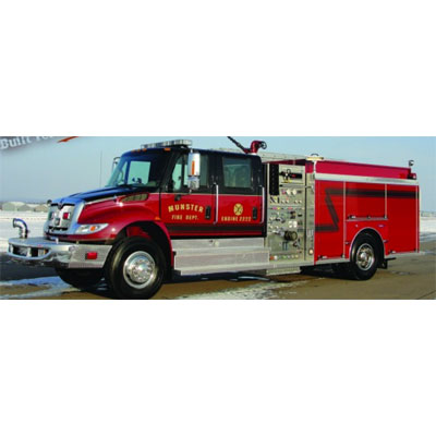 Custom Fire Apparatus, Inc. Side Mount Pumper