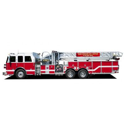 Custom Fire Apparatus, Inc. SL100 aerial ladder