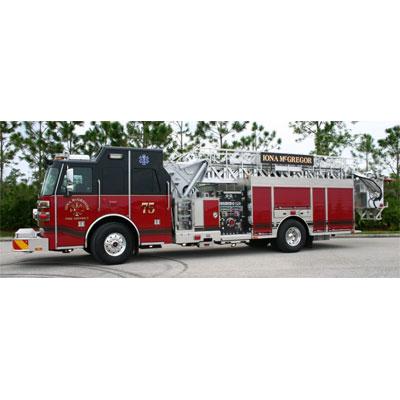 Custom Fire Apparatus, Inc. SP70 aerial platform