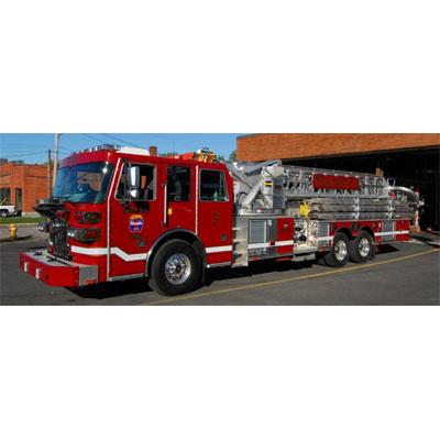 Custom Fire Apparatus, Inc. SP95 sutphen aerial device