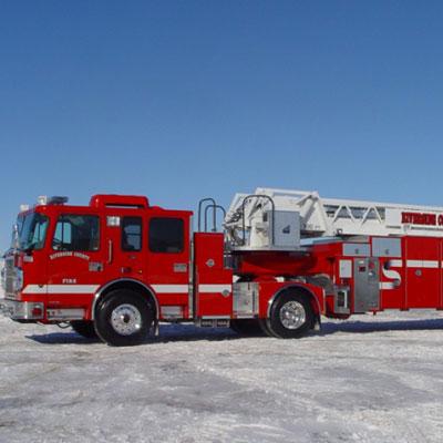 Custom Fire Apparatus, Inc. Tractor Drawn Aerial ladder