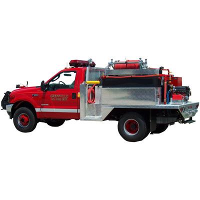 Danko Emergency Equipment Q-135 wildland flatbed