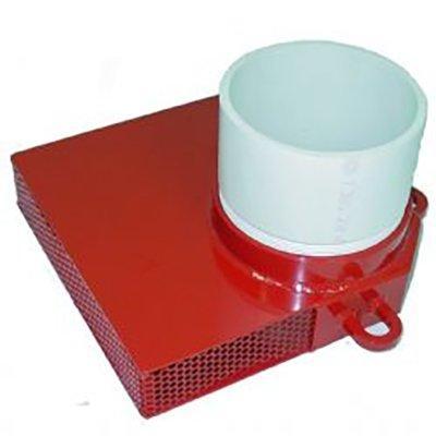 "Kochek DHLL60 6"" Dry Hydrant Low Level PVC Strainer"