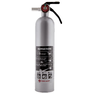 First Alert DHOME1 rechargeable fire extinguisher