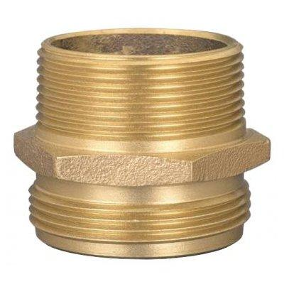 American Fire Supply A4M2-4M1 Double Male Adapters