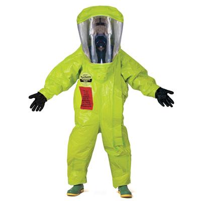 DQE HM2103T Tychem® TK fully encapsulated training suit