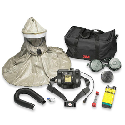 DQE HM5550L Breathe Easy PAPR System CBRN with Lithium non-rechargeable battery