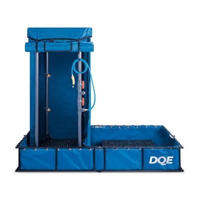 DQE HMK1101S is a standard decontamination shower system