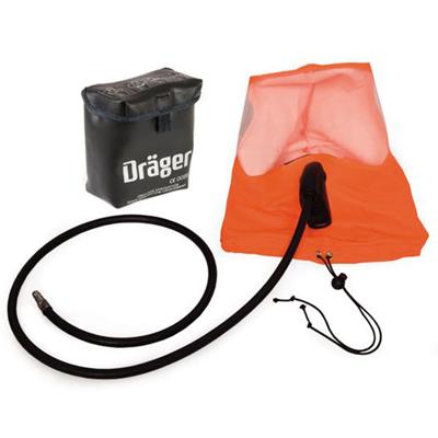 Draeger Dräger PSS® Rescue Hood is a constant flow emergency escape hood