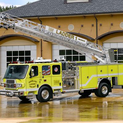 E-ONE HP 78 ToughTruss® aerial ladder design