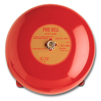 Edwards Signaling 323D-10AW-R 10-inch fire alarm bell
