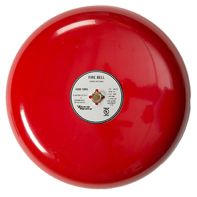 Edwards Signaling 439D-6RAU 6-inch fire alarm bell