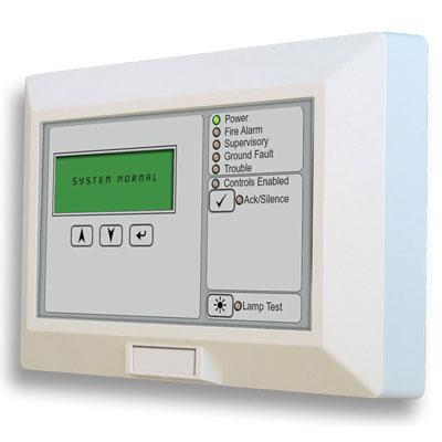 Edwards Signaling E-RLCD-C remote annunciator
