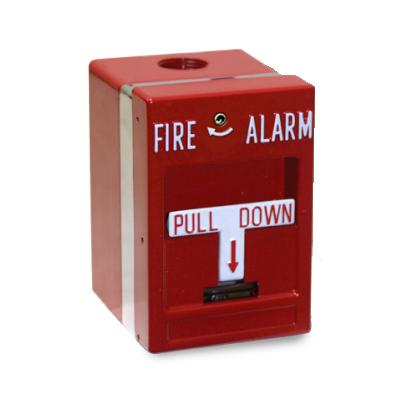 Edwards Signaling MPSR1-SHTW-GE fire alarm manual pull station
