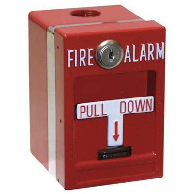 Edwards Signaling MPSR2-S45W-GE fire alarm manual pull station