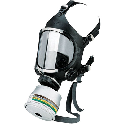 EKASTU Full Face Mask C 607/F (Class 3) with polycarbonate visor