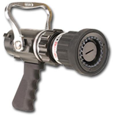 Elkhart Brass SFM-LP nozzle with aluminum/bronze shut-off