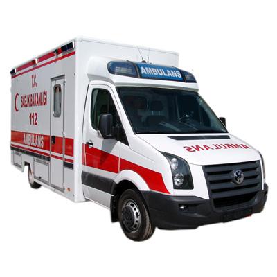 EMS Mobil Sistemler ve Four Patients Transport Ambulance