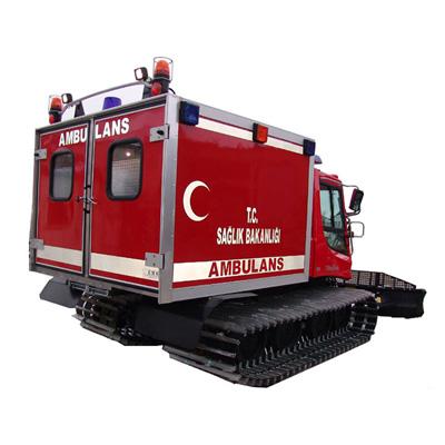 EMS Mobil Sistemler ve Snowtrack Ambulance